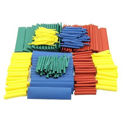 Q4 280Pcs 8 Sizes Assorted 2:1 Heat Shrink Tubing Tube Wrap Sleeve Wire Cable Ki