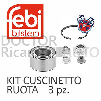 Kit Cuscinetto Ruota Anteriore Bilaterale Febi Vw Golf 4 (1J1)