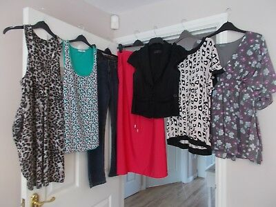 **7 Item Casual Wear Bundle From Next George New Look Et Vous Size 12 In Vgc**