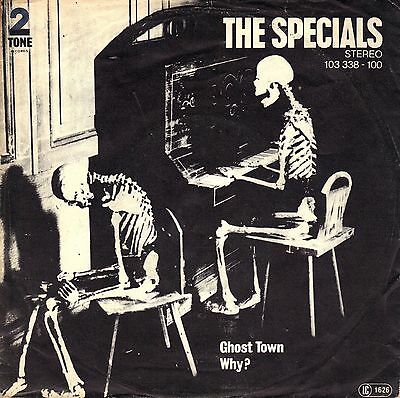 """7"""" Specials – Ghost Town / ° SKA ° // Germany 1981"""