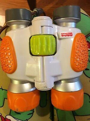 Fisher-Price Kid-Tough Kids Binoculars WORKS GREAT!  toy orange