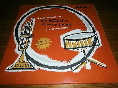 LP: The best of MAX ROACH and CLIFFORD BROWN in concert! - POLJAZZ PSJ 137 Polen