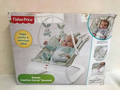 Fisher Price Deluxe Comfort Curve Bouncer USED GOOD CONDITION