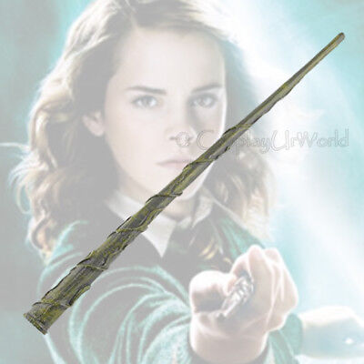 New Harry Potter Master Hermione's Replica Magical Collection Cosplay Wand w Box