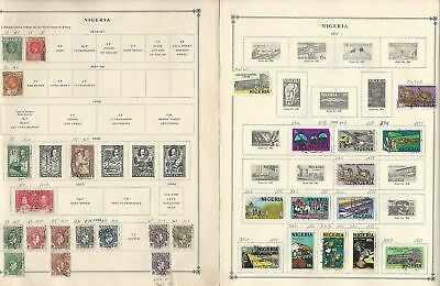 Nigeria & Area Collection 1901-1992 on 20 Scott International Pages