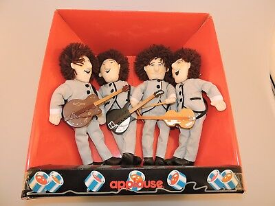 RARE & VINTAGE 1989 The Beatles at Shea Stadium Applause Collectible Dolls