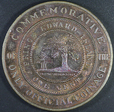 1871-1971 PRINCE EDWARD ISLAND Comm. Only Official Coinage ONE CENT MEDAL