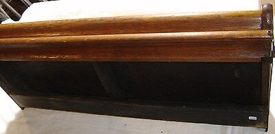 Antique Macey Oak Stacking Bookcase Ogee Bookcase Top.Original finish 8071