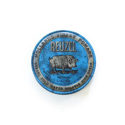 Pomade Cheveux Reuzel Blue - Strong Hold High Sheen