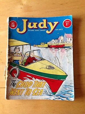 Vintage 1964 Judy Picture Story Library No.12 The Shop That Went To Sea