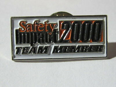 New Home Depot safety impact 2000 Lapel Pin