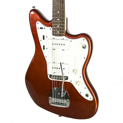 Brand New Fender Squier Vintage Modified Jazzmaster Candy Apple Red Electric Gui