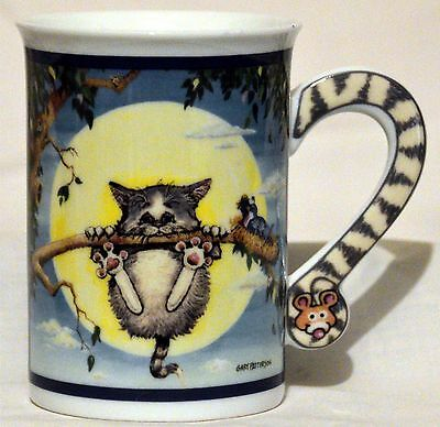 Comical Cats Danbury Mint Gary Patterson Hang In There! Mug
