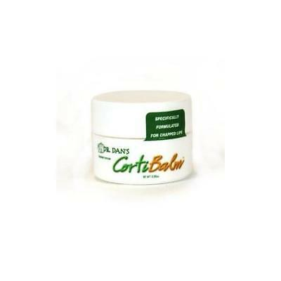 12 Pack Dr. Dans CortiBalm Medicated Lip Balm,Great for chapped lips 0.25oz Each
