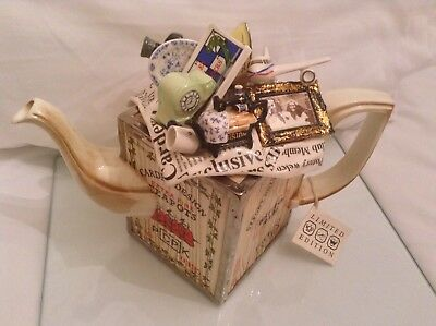 Cardew Large Collectable Novelty Moving Day Crate Teapot In Excellent Condition