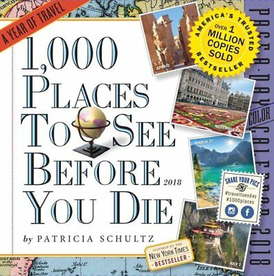1,000 Places to See Before You Die Page-A-Day Calendar 2018 9781523500475