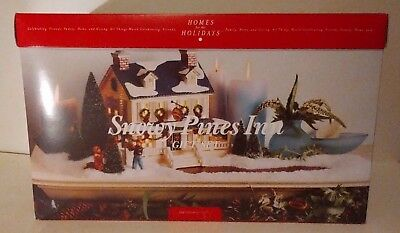 Dept 56 Snowy Pines Inn Gift Set  Snow Village