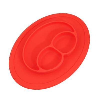 One-Piece Silicone Placemat Plate Dish Food Table Mat for Baby Toddler Kid LJ