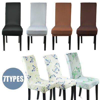 Stretch Dining Chair Cover Washable Removable Slipcover Dinning Cover 2/4 Pcs