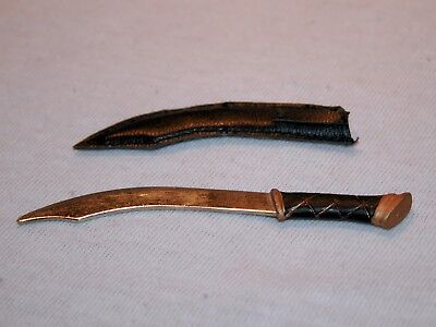 """Elvish Knife Aragorn Metal 1/6 Scale Action Figure Lord of the Rings 12"""" LotR"""