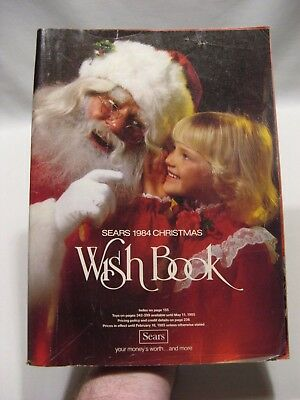 1984 Sears Christmas Wish Book Catalog - Toys, Star Wars - Back Cover Detached