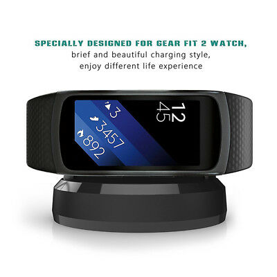 New Charger For Samsung Gear Fit 2 Smart Watch Dock Station USB Charging Cable #