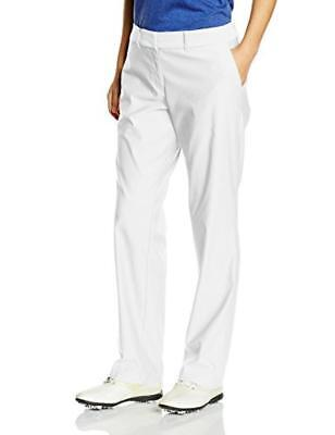 (TG. EU 40 (UK 12 / US 8)) Nike Tournament- Pantaloni Donna, colore Bianco, tagl