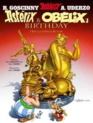 Asterix: Asterix and Obelix's Birthday The Golden Book, Album 34 9781444000955