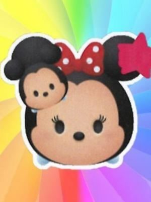 Disney Mickey Mouse and Minnie Mouse Tsum Tsum Plush Pillow Cushion Japan Limit