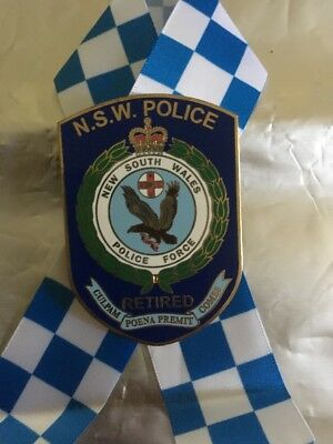 New South Wales Police Badge Retired