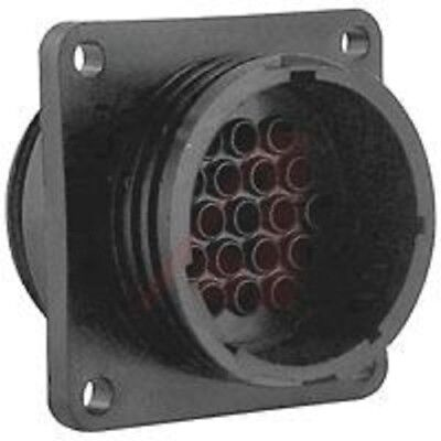 TE Connectivity 37 Pole Through Hole Connector Socket 23 Shell Size Male Contact