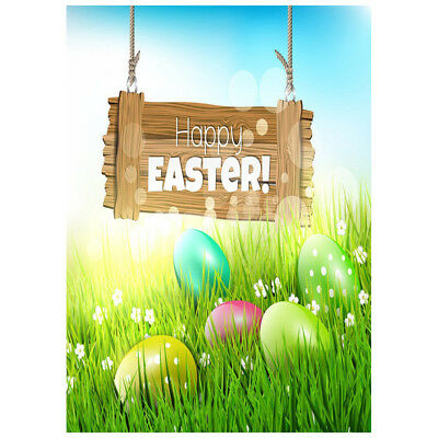 Q4 Easter theme 3X5FT Pictorial cloth Customized photography Backdrop Background