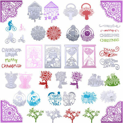 Metal Cutting Dies Stencil DIY Scrapbooking Embossing Album Card Paper Crafts