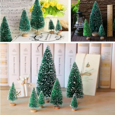 5Pcs Christmas Tree Mini Cedar Ornaments Party Dolls House Miniature Decor-CA
