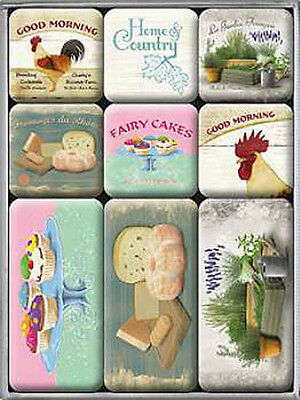 Magnet-Set - Home & Country, 9-teilig