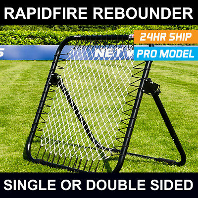RapidFire Gaelic Football Rebound Net | Single or Double Sided Spring Rebounder