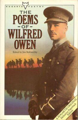 The Poems of Wilfred Owen (Hogarth Poetry) by Wilfred Owen Paperback Book The