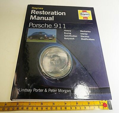 $1 No Rsv Haynes Porsche 911 Restoration Manual Hard cover