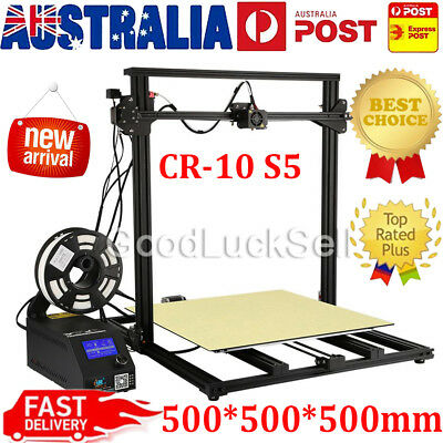 3D Printer Creality CR-10 S5 500x500x500mm With Dual Z-axis 0.2kg PLA Filament B