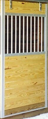 Galvanized Horse Stall Door W/grill For Stalls