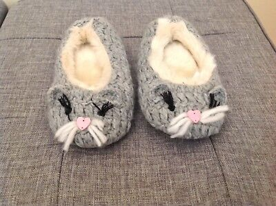 Monsoon Cute Girls Slippers. New Without Tags. Size