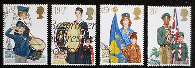 Great Britain - 1982 - Youth Organisation - SG 1179/1182 - Used Set