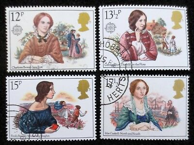 Great Britain - 1980 - Authoresses - SG 1125/1128 - Used Set