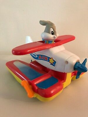 Vtg Tyco toy bugs bunny aireplaine