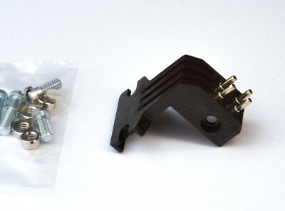 """P Mount, T4P Adapter converter for standard 1/2"""" Cartridge Mount Turntable Heads"""