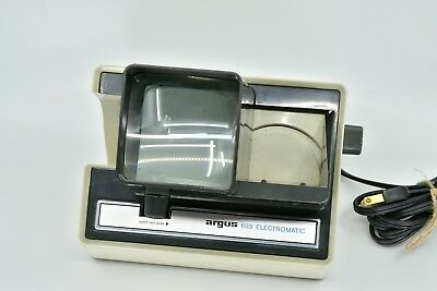 Vintage Argus 693 Electromatic 35Mm 2 X 2 Slide Viewer Auto Advance