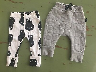 Huxbaby Pants X 2 Pairs  Size 3-6 Months Unisex
