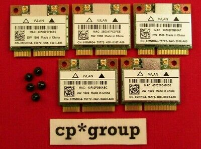 Dell Latitude E5440 E7440 PCIe Wireless Wi-Fi Card + Screw MNRG4 AR5B125