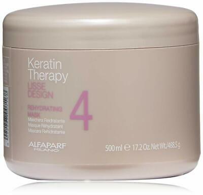 ALFAPARF LISSE DESIGN KERATIN THERAPY REHYDRATING MASK 17.63oz