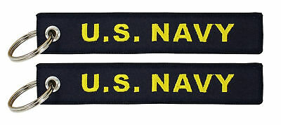 U.S. Navy - USN Embroidered Key Chain Fob